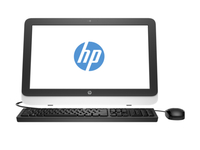 "HP 22-3100na 2.5GHz G1840T 21.5"" 1920 x 1080Pixel Argento PC All-in-one"