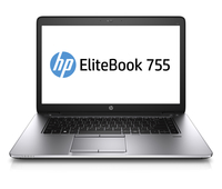 "HP EliteBook 755 G2 2.1GHz A10-7350B 15.6"" 1920 x 1080Pixel Touch screen 4G Argento Computer portatile"