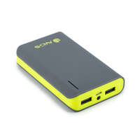 NGS Powerpump 6600 Lemon Ioni di Litio 6600mAh Grigio batteria portatile