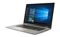 "Toshiba Satellite Radius 12 P20W-C-103 2.5GHz i7-6500U 12.5"" 1920 x 1080Pixel Touch screen Alluminio, Oro Ibrido (2 in 1)"