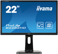 "iiyama ProLite B2282HD-B1 21.5"" Full HD TN Opaco Nero monitor piatto per PC LED display"
