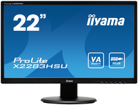 "iiyama ProLite X2283HSU-B1DP 21.5"" Full HD VA Opaco Nero monitor piatto per PC LED display"