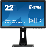 "iiyama ProLite XB2283HSU-B1DP 21.5"" Full HD VA Opaco Nero monitor piatto per PC LED display"