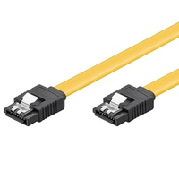 Cavo SATA 6GBits 0,5 mt clip