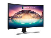 "Samsung LS32E590CS 31.5"" Full HD VA Nero, Metallico monitor piatto per PC"