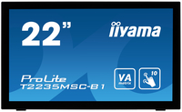 "iiyama ProLite T2235MSC 21.5"" 1920 x 1080Pixel Multi-touch Da tavolo Nero monitor touch screen"