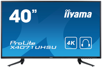 "iiyama ProLite X4071UHSU-B1 39.5"" 4K Ultra HD MVA Opaco Nero monitor piatto per PC LED display"