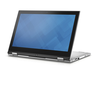 "DELL Inspiron 13 2.3GHz i5-6200U 13.3"" 1366 x 768Pixel Touch screen Nero, Argento Ibrido (2 in 1)"
