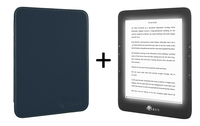 "Icarus Illumina 6"" Touch screen 8GB Wi-Fi Nero, Blu lettore e-book"
