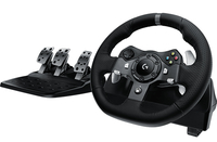 Logitech G920 Driving Force Volante + Pedali PC,Xbox One Nero