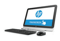 "HP 22-3101nf 1.8GHz A4-6210 21.5"" 1920 x 1080Pixel Touch screen Nero, Grigio PC All-in-one"