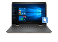"HP Spectre x360 13-4159nd Special Edition 2.5GHz i7-6500U 13.3"" 1920 x 1080Pixel Touch screen Nero, Oro Ibrido (2 in 1)"