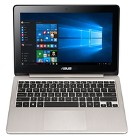 "ASUS Transformer Book Flip TP200SA-FV0139T 1.6GHz N3700 11.6"" 1366 x 768Pixel Touch screen Argento Ibrido (2 in 1) notebook/portatile"