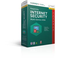 Kaspersky Lab Internet Security Multi-Device 2016 Base license 3utente(i) 1anno/i ESP