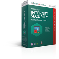 Kaspersky Lab Internet Security Multi-Device 2016 5utente(i) 1anno/i ESP