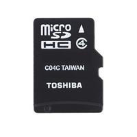 MEMORY CARD MICRO SD/TRANSFLASH 08GB TOSHIBA CLASSE 4 THN-M102K0080M2
