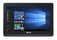 "ASUS Transformer Book Flip TP200SA-FV0130T 1.6GHz N3700 11.6"" 1366 x 768Pixel Touch screen Blu Ibrido (2 in 1) notebook/portatile"