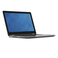 "DELL Inspiron 7568 2.4GHz i7-5500U 15.6"" 1920 x 1080Pixel Touch screen Nero, Argento Ibrido (2 in 1)"