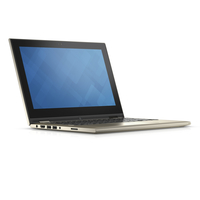 "DELL Inspiron 3147 2.16GHz N3540 11.6"" 1366 x 768Pixel Touch screen Nero, Oro Ibrido (2 in 1)"
