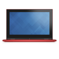 "DELL Inspiron 3147 1.6GHz N3050 11.6"" 1366 x 768Pixel Touch screen Rosso Ibrido (2 in 1)"