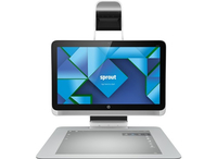 "HP Sprout 23-S300NS 3.2GHz i7-4790S 23"" 1920 x 1080Pixel Touch screen Argento PC All-in-one"