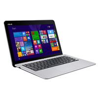 "ASUS Transformer Book T300FA-FE001T 0.8GHz M-5Y10 12.5"" 1366 x 768Pixel Touch screen Blu, Grigio Ibrido (2 in 1)"