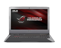 "ASUS ROG G752VY-T7003T 2.6GHz i7-6700HQ 17.3"" 1920 x 1080Pixel Nero, Metallico Computer portatile"