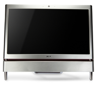"Acer Aspire Z5710 3.2GHz i3-550 23.6"" 1920 x 1080Pixel Touch screen Argento PC All-in-one"