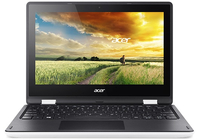 "Acer Aspire R 11 R3-131T-C5SK 1.6GHz N3050 11.6"" 1366 x 768Pixel Touch screen Nero, Bianco Netbook"