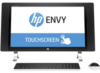 "HP ENVY 27-p001ns 2.8GHz i7-6700T 27"" 3840 x 2160Pixel Touch screen Perlato, Bianco PC All-in-one"