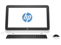 "HP 20-r121d 3.2GHz i3-4170T 19.45"" 1600 x 900Pixel Bianco PC All-in-one"