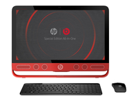 "HP ENVY 23-n203ns 3.1GHz i3-4160T 23"" 1920 x 1080Pixel Touch screen Rosso PC All-in-one"