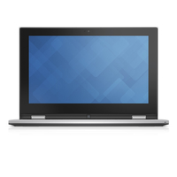 "DELL Inspiron 3157 1.6GHz N3050 11.6"" 1366 x 768Pixel Touch screen Argento Ibrido (2 in 1)"