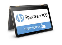 "HP Spectre x360 13-4103dx 2.5GHz i7-6500U 13.3"" 2560 x 1440Pixel Touch screen Argento Ibrido (2 in 1)"