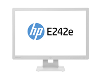 "HP EliteDisplay E242e 24"" IPS Opaco Grigio monitor piatto per PC"