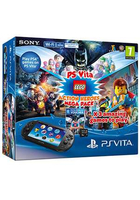 "Sony Vita Wifi + 8GB MC + Lego Mepack II 5"" 8GB Touch screen Wi-Fi Nero console da gioco portatile"