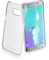 Cellularline Clear - Galaxy S6 Edge Plus Cover rigida super trasparente che esalta il design Trasparente