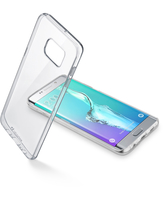CUSTODIA PER SAMSUNG GALAXY S6 EDGE G925 CELLULAR LINE CLEARDUOPHS6EPLT CLEAR