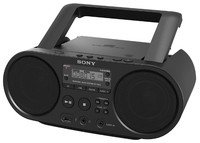Sony ZS-PS50 Digitale 4W Nero radio CD