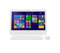 "Acer Aspire AZ1-611-MD41 2GHz J1900 19.5"" 1920 x 1080Pixel Bianco PC All-in-one"