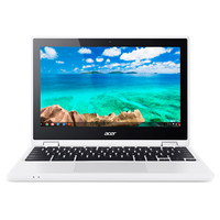 "Acer Chromebook CB5-132T-C9ES 1.6GHz N3150 11.6"" 1366 x 768Pixel Touch screen Bianco Chromebook"