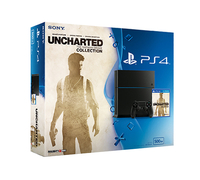 Sony Uncharted: The Nathan Drake Collection PS4 bundle 500GB Wi-Fi Nero