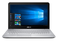 "ASUS N552VW-FY094T 2.6GHz i7-6700HQ 15.6"" 1920 x 1080Pixel Marrone, Acciaio inossidabile Computer portatile notebook/portatile"