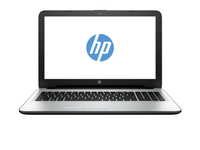 "HP 15-ac121cy 1.6GHz N3150 15.6"" 1366 x 768Pixel Touch screen Argento, Bianco Computer portatile"