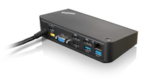 Lenovo 40A40090DK USB 3.0 (3.1 Gen 1) Type-A Nero replicatore di porte e docking station per notebook