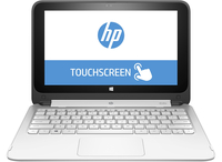 "HP x360 11-p101nf 2.16GHz N2840 11.6"" 1366 x 768Pixel Touch screen Nero, Bianco Ibrido (2 in 1)"