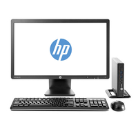 HP ProDesk 600 G1 Mini + EliteDisplay E231 3.1GHz i3-4160T Nero Mini PC