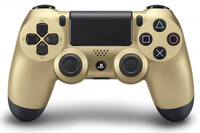 Sony DualShock 4 Gamepad PlayStation 4 Nero, Oro