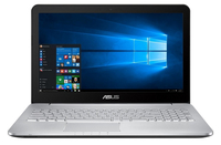 "ASUS N552VX-FY026T 2.6GHz I7-6700HQ 15.6"" 1920 x 1080Pixel Marrone, Acciaio inossidabile Computer portatile"