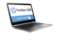 "HP Pavilion x360 13-s151la 2.3GHz i3-6100U 13.3"" 1366 x 768Pixel Touch screen Argento Ibrido (2 in 1)"